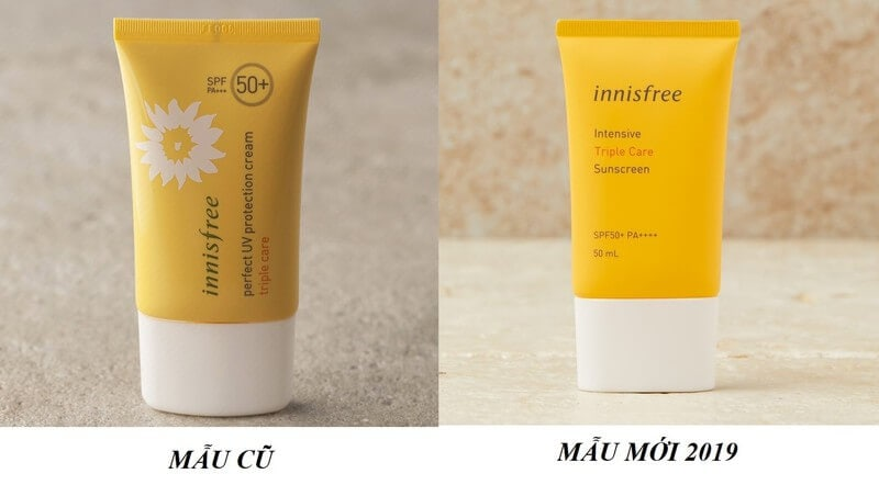 Innisfree Intensive Triple Care mẫu mới 2019