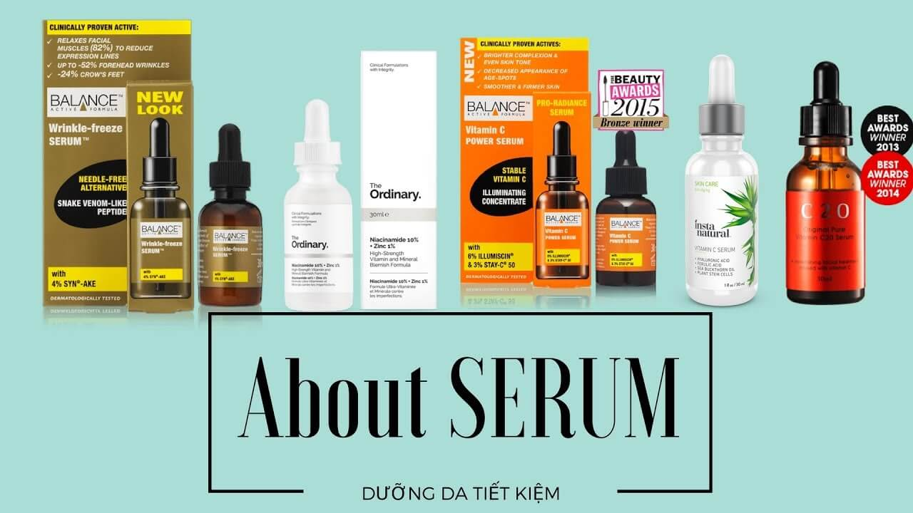 Serum là gì? Công dụng, Cách dùng mang lại hiệu quả tốt nhất cho làn da