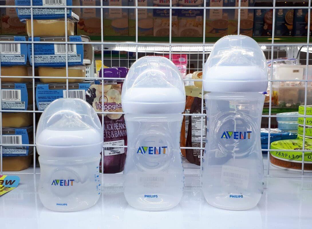 Bình sữa Philips Avent chống sặc, giảm đầy hơi cho bé