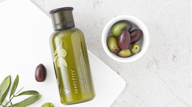 Dầu dưỡng ẩm Innisfree Olive Real Lotion EX
