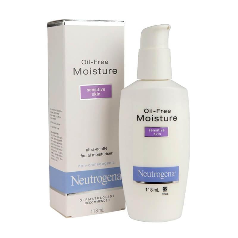 Kem dưỡng ẩm Neutrogena Moisture Oil-free cho da nhạy cảm