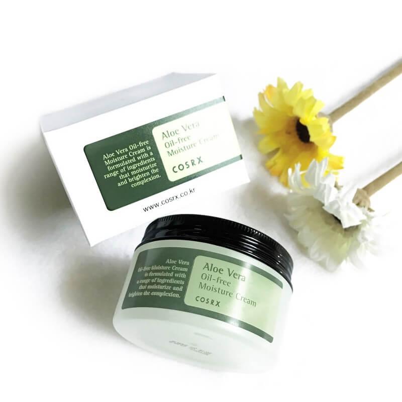 Kem Dưỡng Cosrx Aloe Vera Oil-free Moisture Cream