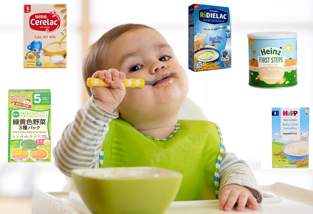Điểm tên 7 dòng bột ăn dặm cho bé cung cấp đủ dưỡng chất cần thiết