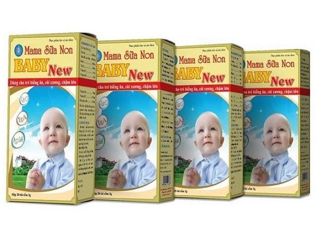 Mama sữa non cho trẻ sơ sinh