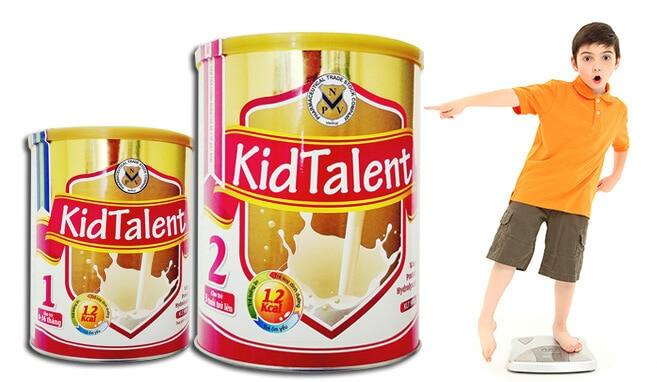 Sữa tăng trưởng chiều cao KidTalent 900g
