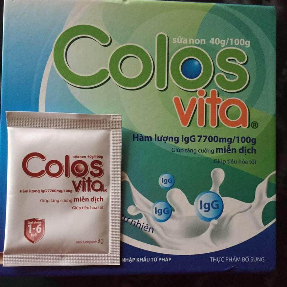 Sữa non dành cho trẻ chậm tăng cân, hay ốm vặt Colosvita