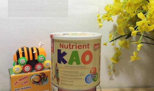 Sữa tăng trưởng chiều cao Nutrient Kao