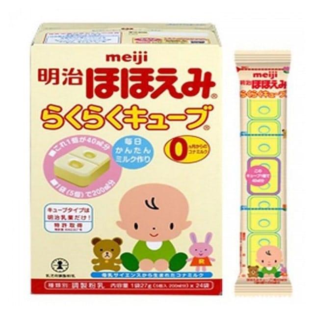 Công thức sữa của Meiji chứa nhiều dưỡng chất tốt cho bé