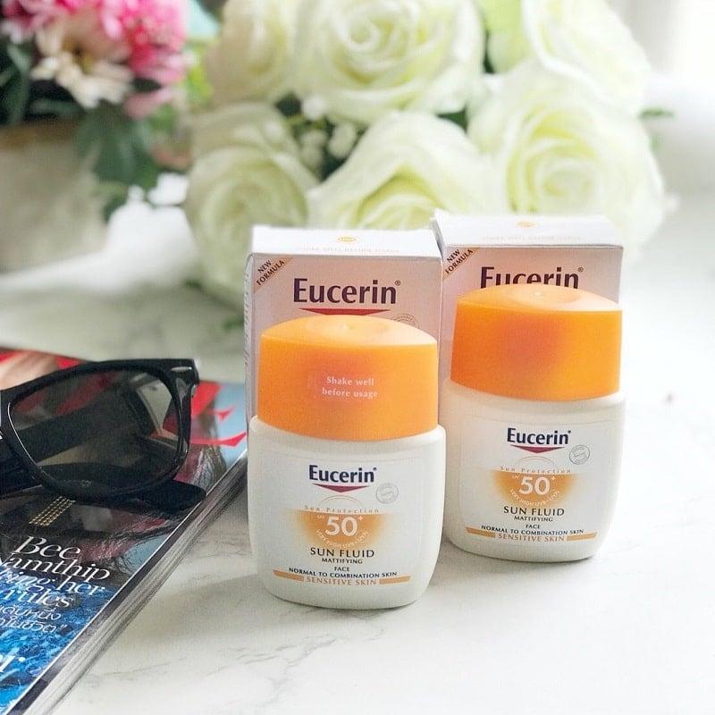 Kem chống nắng Eucerin Sun Fluid SPF50