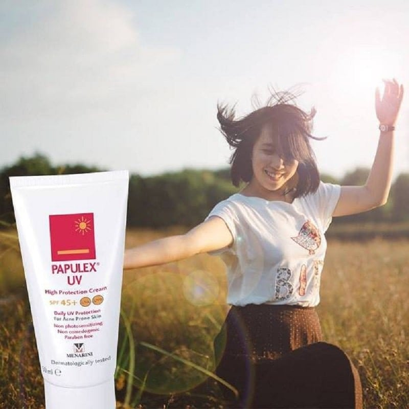 Kem chống nắng Papulex UV High Protection Cream