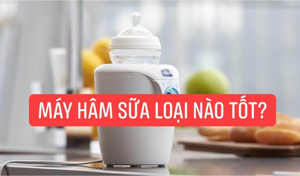 [Review] Máy hâm sữa loại nào tốt? Mua Fatz, Pigeon hay Nuk?