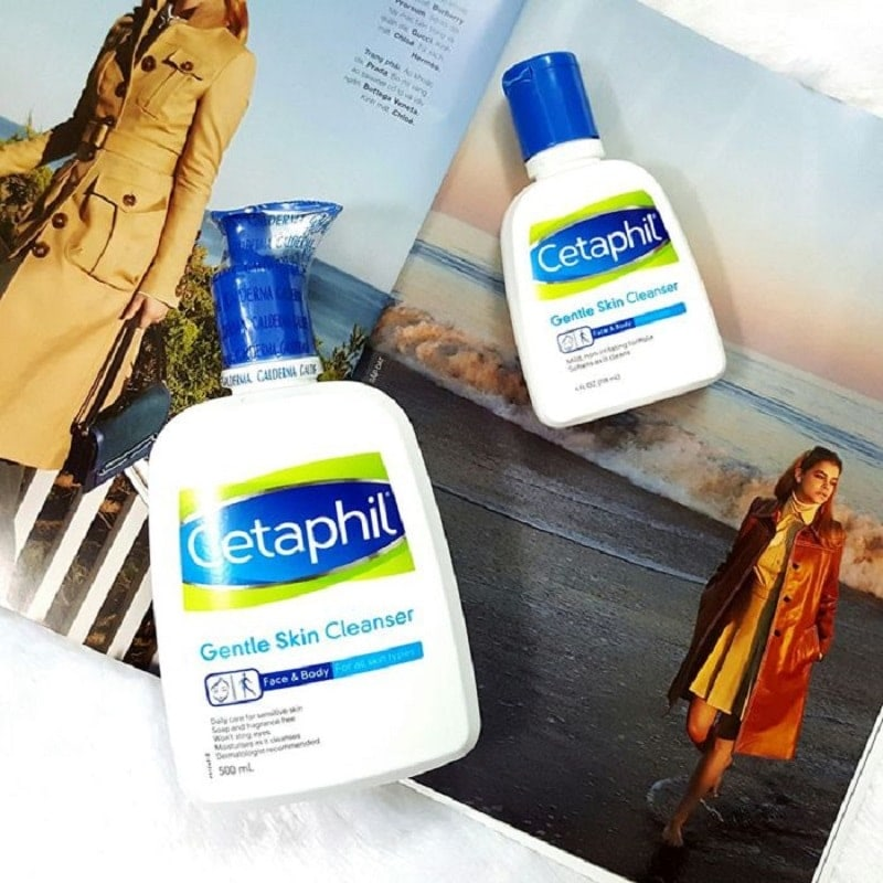 Sữa rửa mặt làm sạch dịu nhẹ Cetaphil Gentle Skin Cleaner 500ml