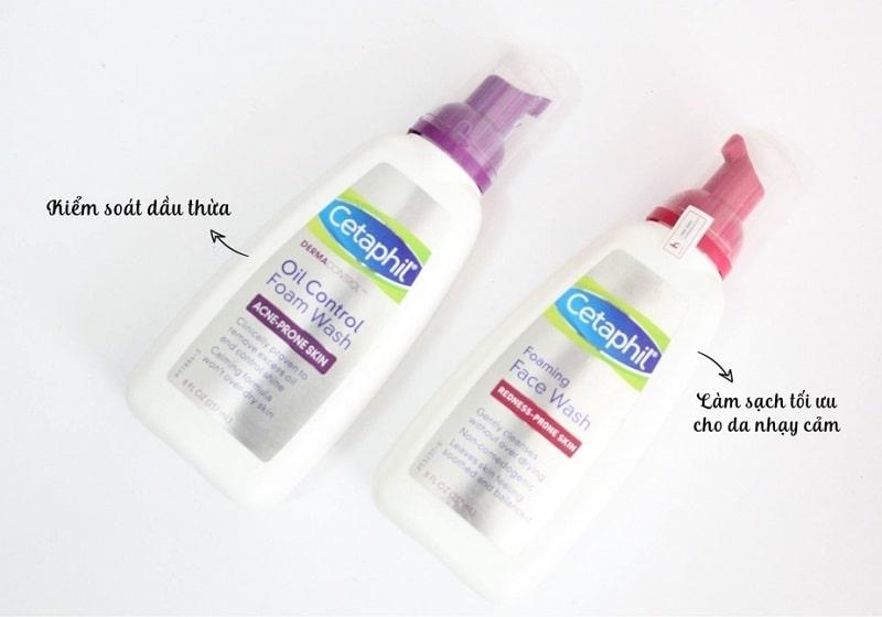 Sữa rửa mặt dành cho da mụn Cetaphil Dermacontrol Foam Wash