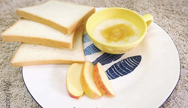 Thực đơn bánh mỳ và táo dành cho những ngày mẹ bận rộn -