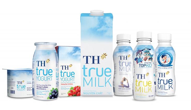 Sữa TH True Milk có nhiều vị cho mẹ bầu chọn lựa thay đổi khẩu vị - 1