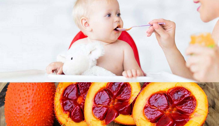 Cách làm dầu gấc cho bé ăn siêu dễ thực hiện ngay tại nhà - mẹ nào cũng có thể áp dụng được - 1