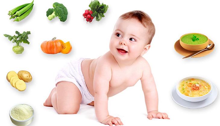 Lịch ăn dặm cho bé 6 tháng tuổi cần được tuân thủ đúng tạo thói quen cho các bé -1