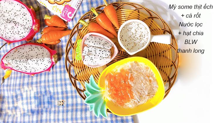Cà rốt chứa nhiều vitamin A rất tốt cho mắt của trẻ - 1