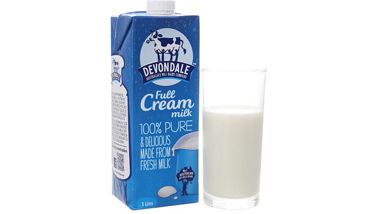 Sữa tươi nguyên kem Devondale vị ngậy khá thơm - 1