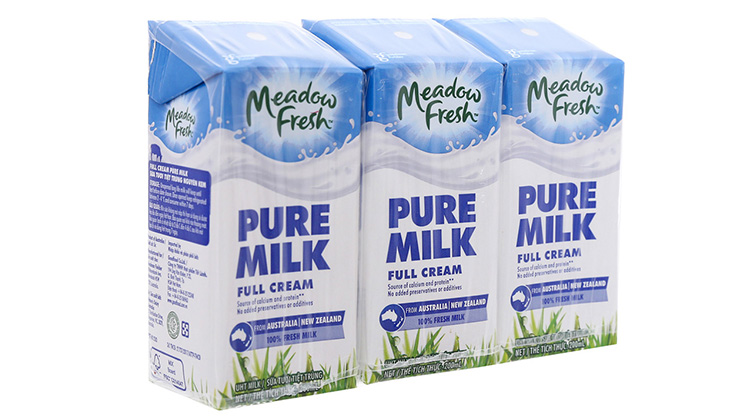 Sữa tươi không đường Meadow kích thích vị giác tốt - 1