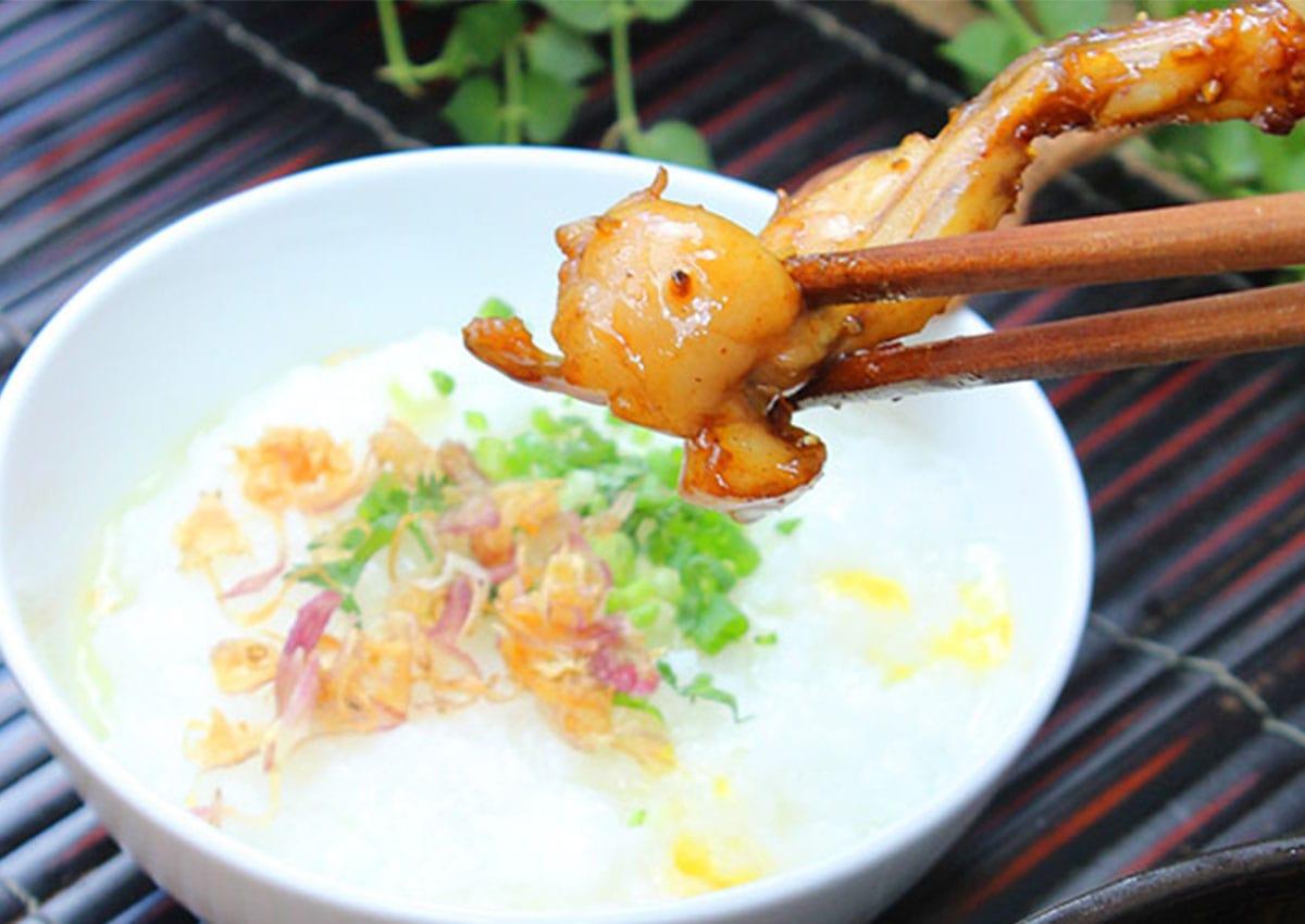Học ngay bí quyết làm món cháo ếch cho bé ăn dặm thơm ngon nhất!