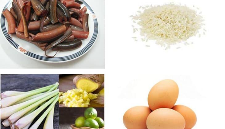 Những nguyên liệu để có bát cháo lươn chuẩn đủ dinh dưỡng cho bé-1