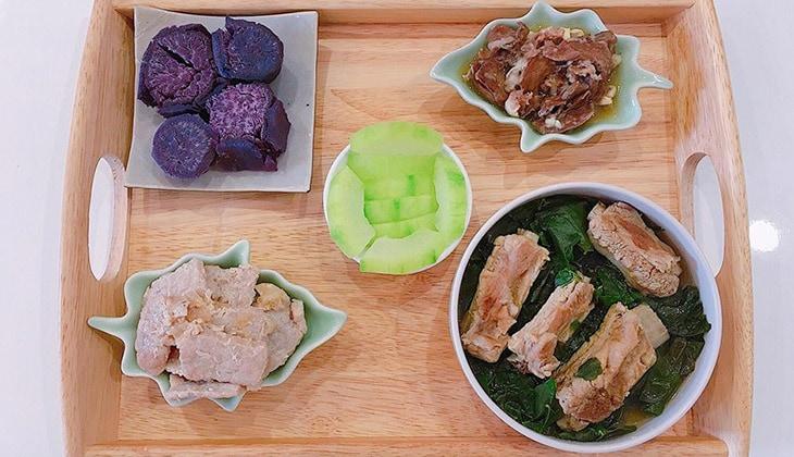 Bữa cơm ở cữ của mẹ nên chế biến đa dạng và nhiều món khác biệt -1