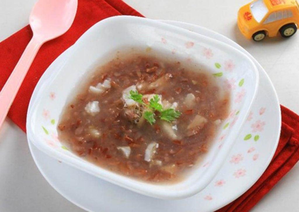 Cách nấu cháo gạo lứt cho bé thơm ngon bổ dưỡng 7