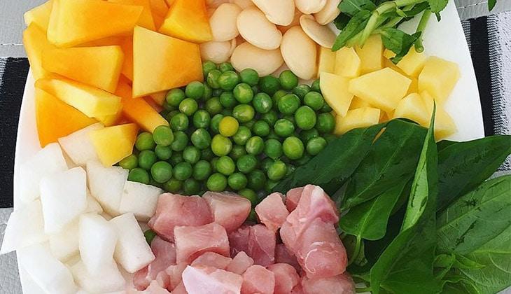 Những nguyên liệu dùng cho món cháo gà thơm ngon -1